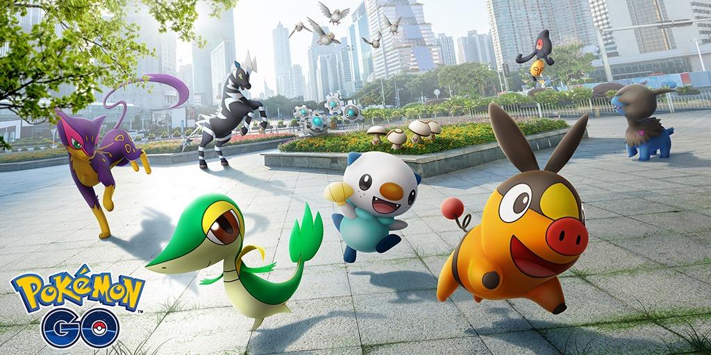 I Pokémon di Unima arrivano oggi su Pokémon GO