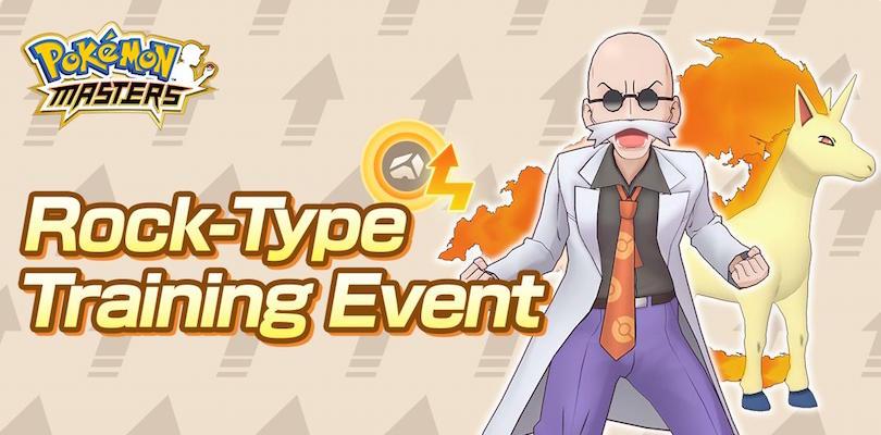 Arriva l'evento Roccia su Pokémon Masters