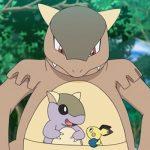 Kangaskhan nuova serie animata Pokémon