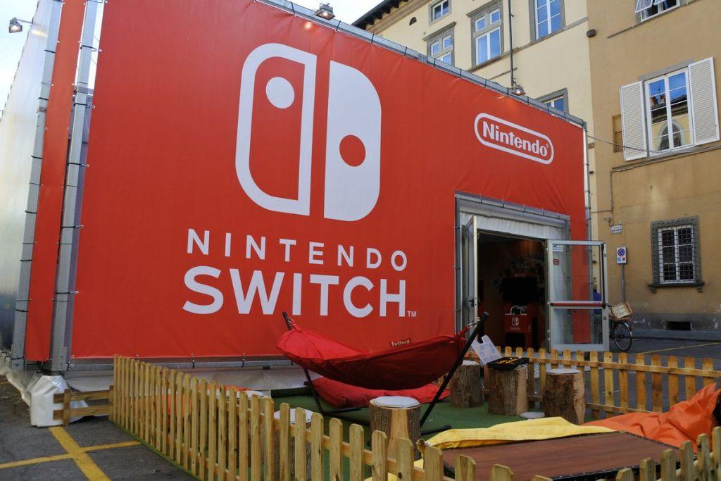 Padiglione Nintendo a Lucca Comics & Games