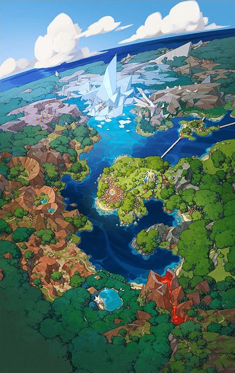 Pasio, l'isola di Pokémon Masters