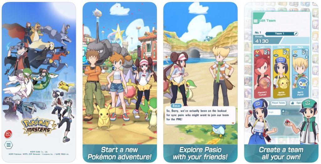 Pokémon Masters: una nuova avventura a tema Pokémon  tutta da vivere sul cellulare.