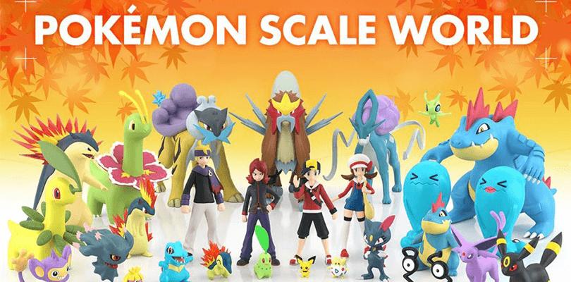 In arrivo da Bandai le statuette di Pokémon Oro e Argento