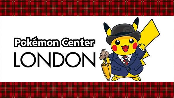 Pikachu, vestito di giacca e bombetta, saluta l'apertura del Pokémon Center a Londra