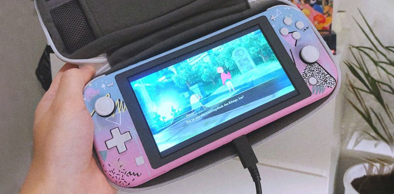Nintendo Switch Lite Vaporwave è diventata realtà