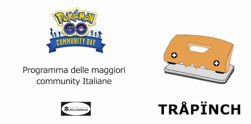 Eventi delle community italiane di Pokémon GO per il Community Day di Trapinch