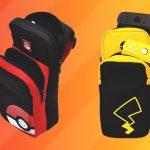 le borse di Pikachu e della Pokéball per Nintendo Switch
