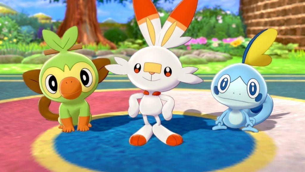 introduzione di Pokémon Spada e Scudo: scelta del Pokémon iniziale