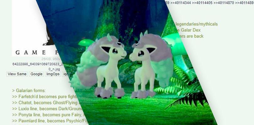 [RUMOR] Ponyta di Galar è stato predetto a settembre?