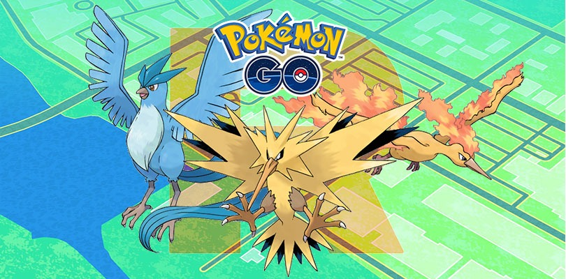 uccelli leggendari ombra Pokémon GO
