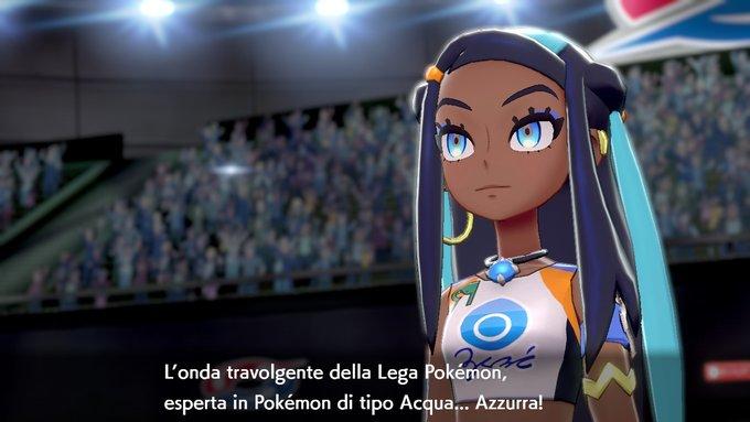 Azzurra Capopalestra di Pokémon Spada e Scudo
