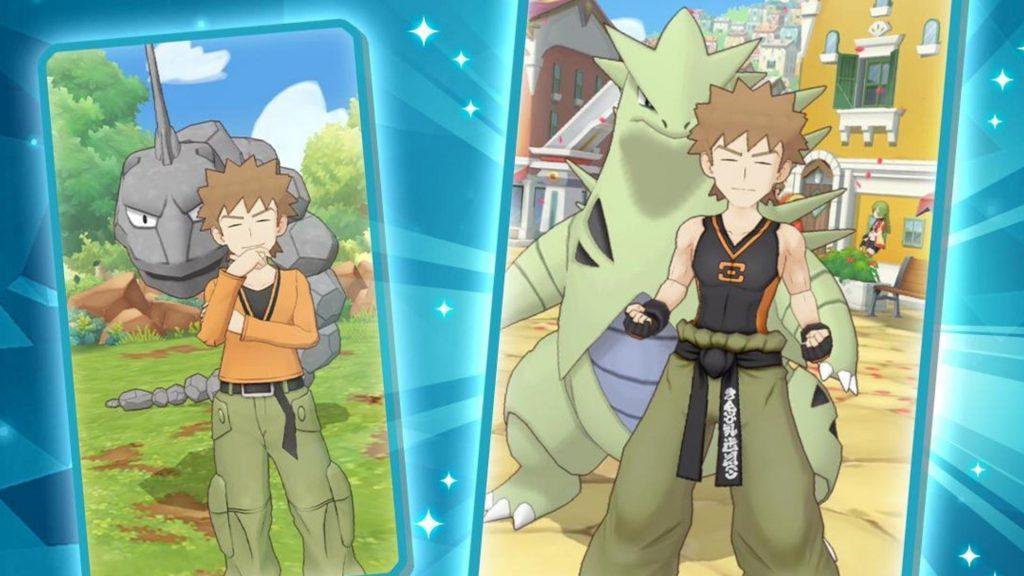 Pokémon Masters, come Brock, cerca di migliorarsi ulteriormente.