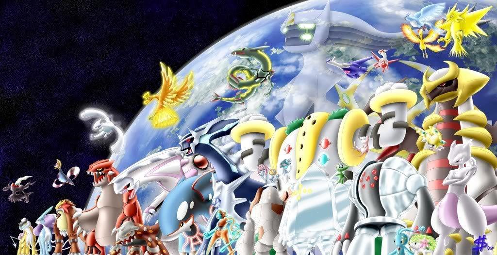 Pokémon Leggendari delle passate generazioni