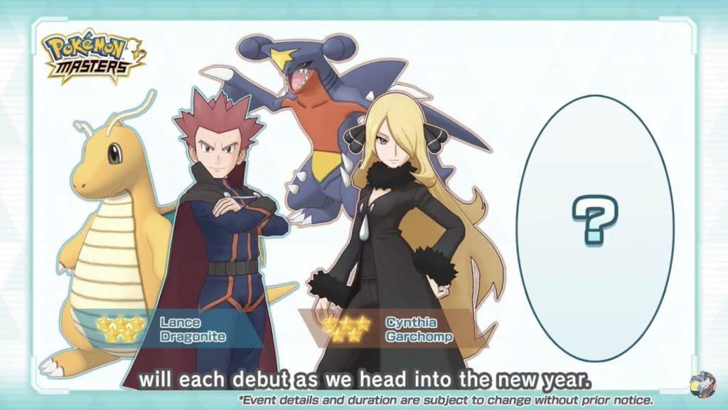 Nuove Unità in Pokémon Masters