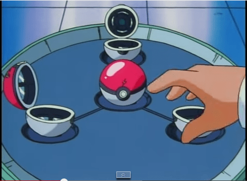 Le Poké Ball nel Laboratorio del Professor Oak