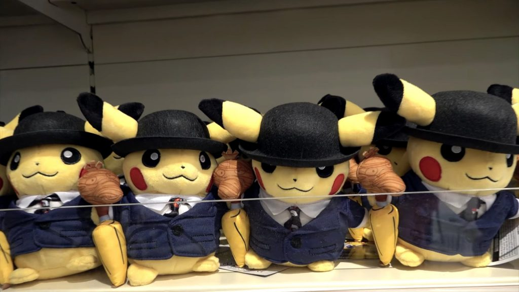 Scaffali Pokémon Center