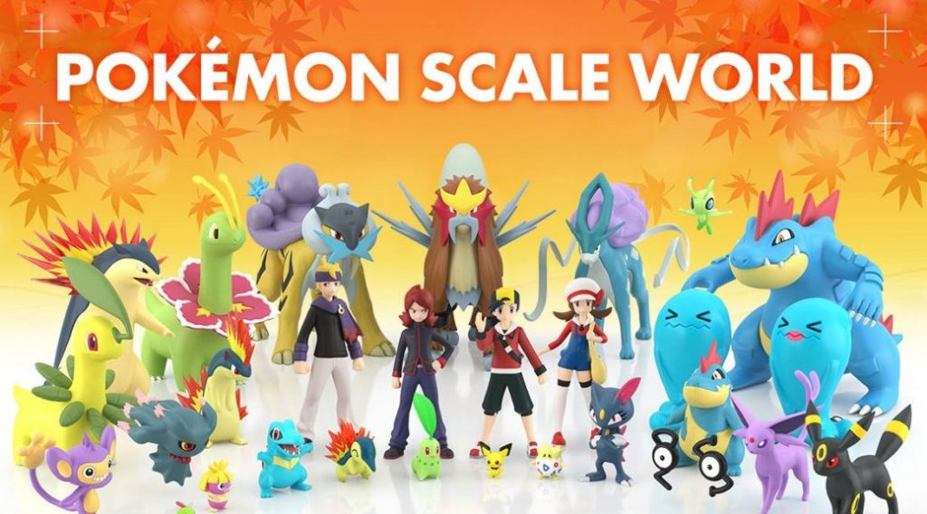 Figure Pokémon Scale World Johto
