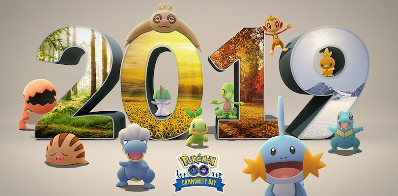 Pokémon GO Community Day 2019