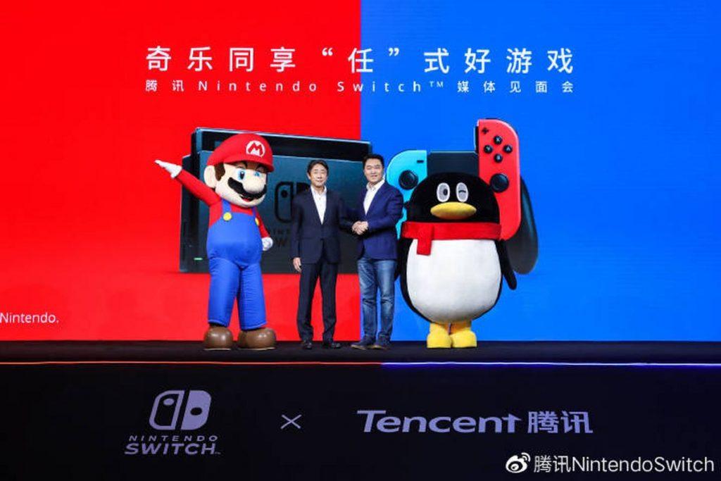 Tencent e Nintendo