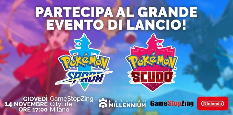 L'imperdibile evento di lancio di Pokémon Spada e Scudo ti aspetta a Milano il 14 novembre!