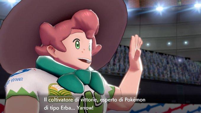 Yarrow Capopalestra di Pokémon Spada e Scudo