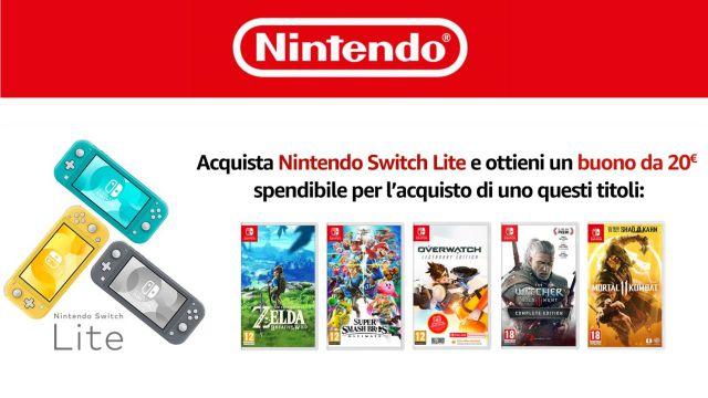 Nintendo Switch Lite offerta