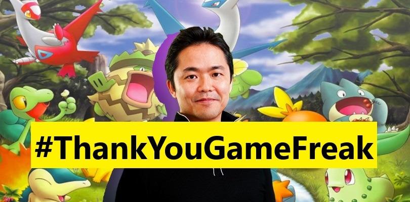 L'amore dei fan ha vinto: l'hashtag #ThankYouGameFreak è primo in tendenza
