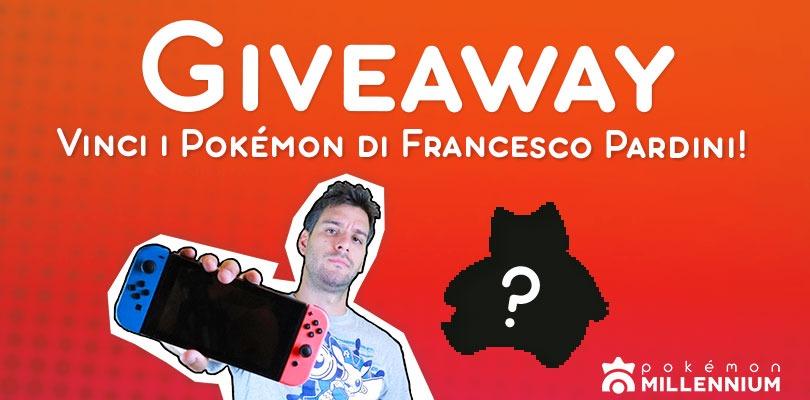 GIVEAWAY GRATUITO: Prova a vincere i Pokémon di Francesco Pardini
