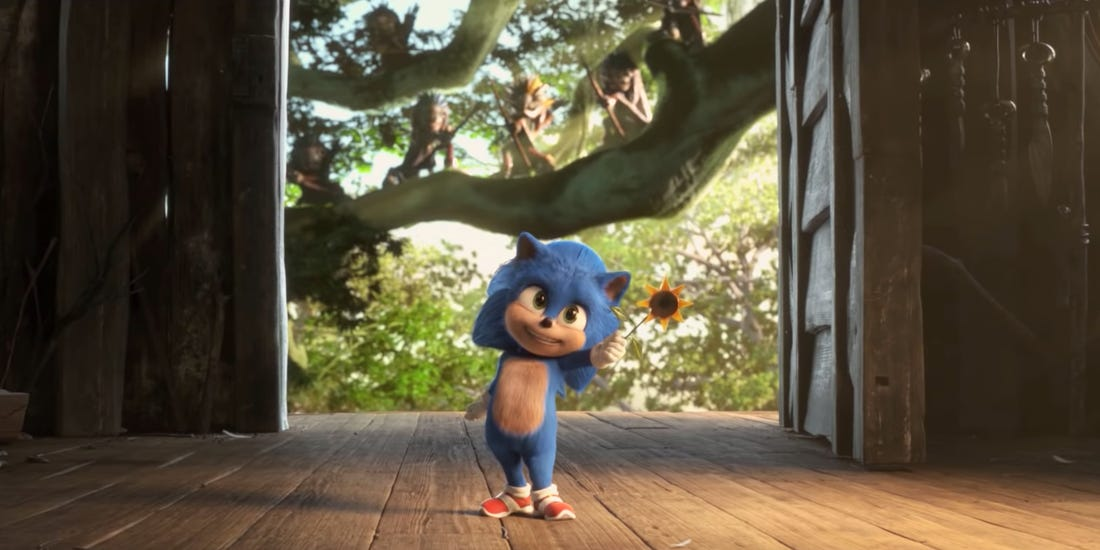 Svelato Baby Sonic nel nuovo trailer giapponese del film