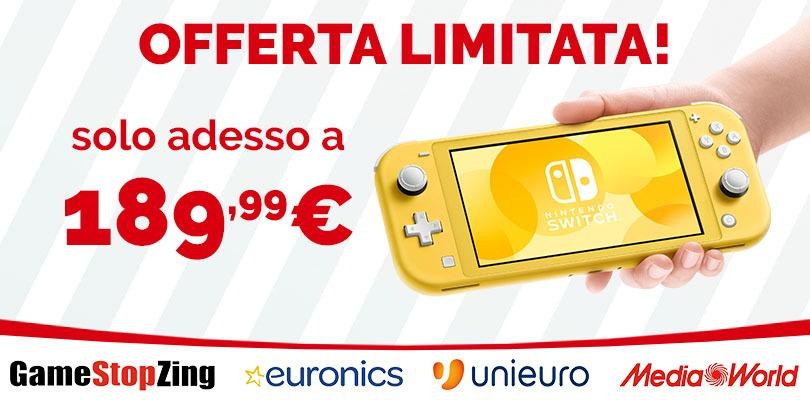 Nintendo Switch Lite a un PREZZO BOMBA nei negozi italiani!
