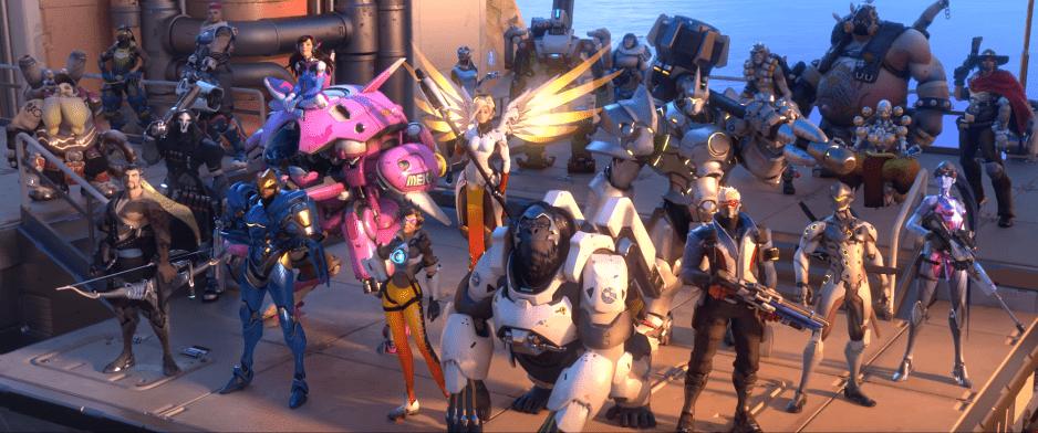 Gli eroi di Overwatch