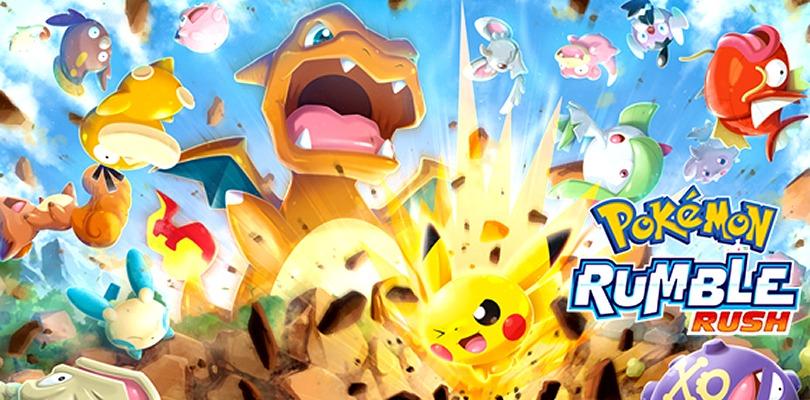 Pokémon Rumble Rush: disponibile l'evento