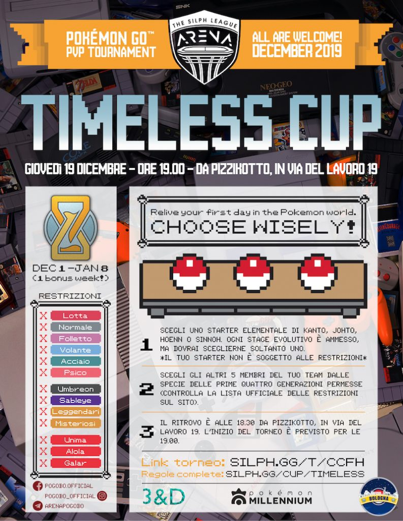 Timeless Cup Bologna