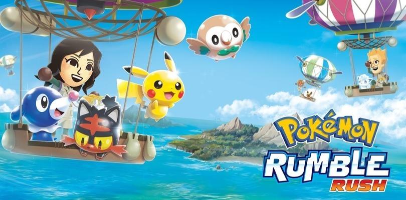 È arrivata la Battle Royale in Pokémon Rumble Rush