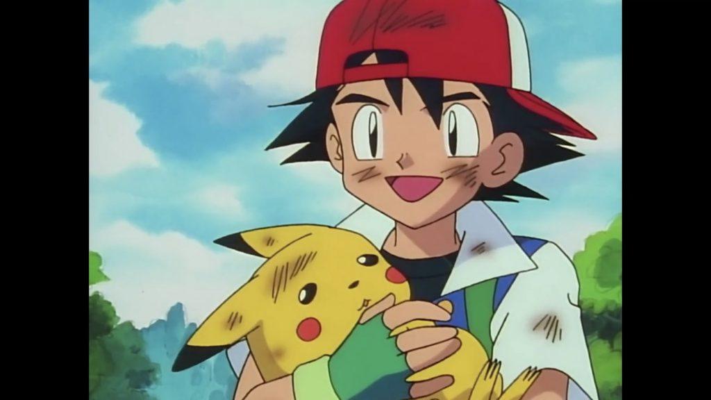 Il legame di Ash e Pikachu nella serie animata Pokémon.