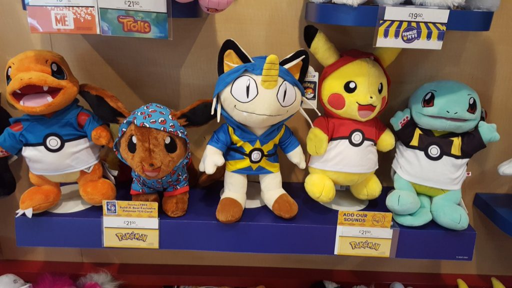Pokémon Build-A-Bear.
