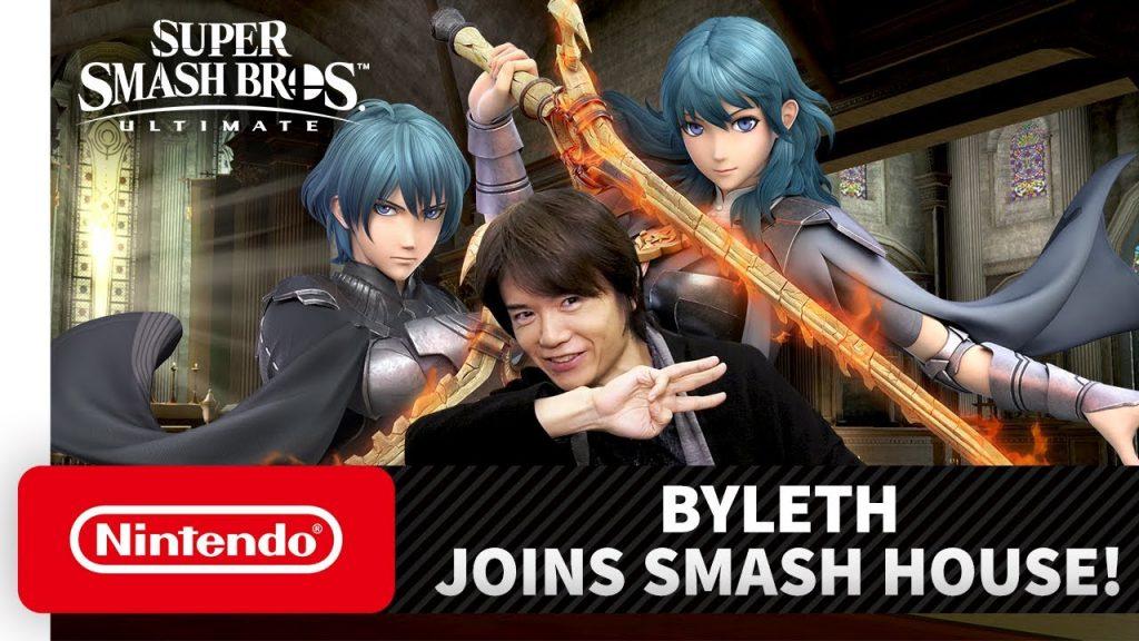 Byleth è il quinto personaggio che si aggiunge alla compagine di Super Smash Bros. Ultimate