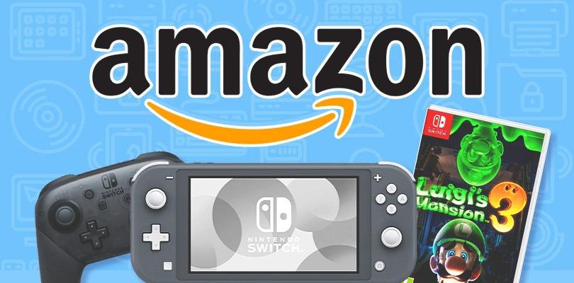 Nintendo Switch, Luigi's Mansion 3 e tanto altro in offerta su Amazon