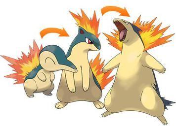 Cyndaquil si potrà evolvere anche in Pokémon Masters.