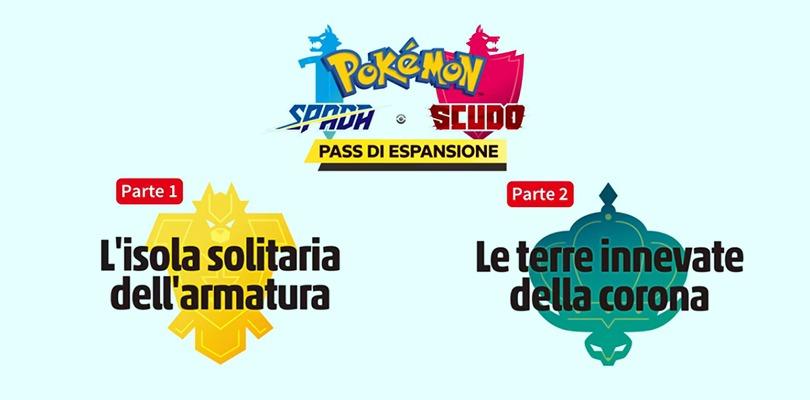 Pass di espansione per Pokémon Spada e Scudo annunciati nel Pokémon Direct