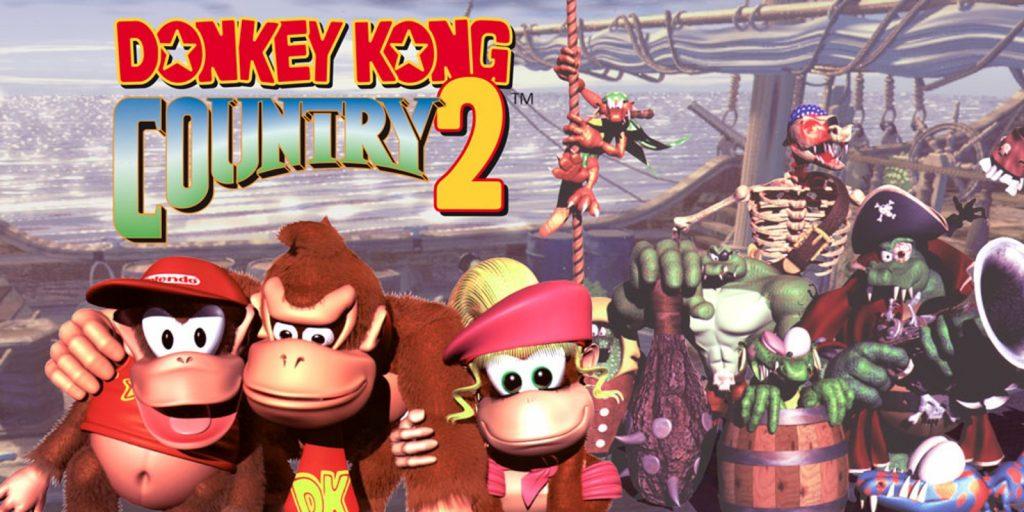 Donkey Kong Country 2 si classifica al secondo posto della graduatoria Donkey Kong giochi.