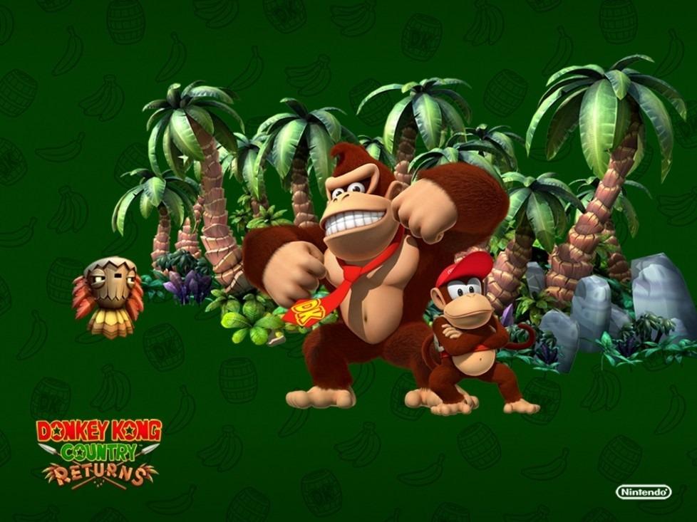 Donkey Kong Country Returns si posiziona al terzo posto della classifica Donkey Kong giochi.