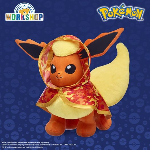 Flareon Build-A-Bear.