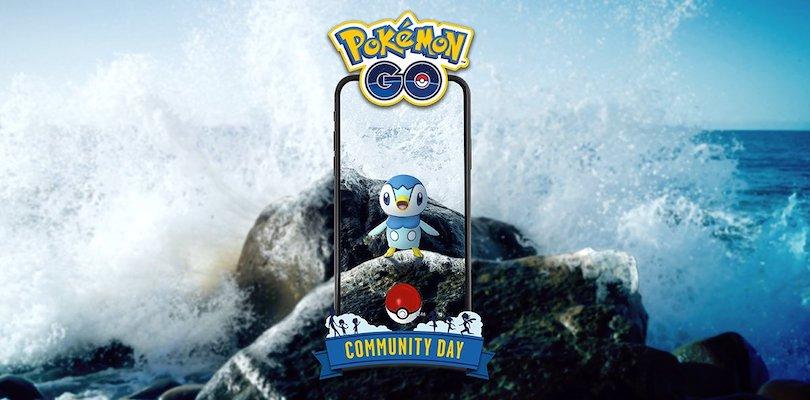 Piplup Pokémon GO Community Day
