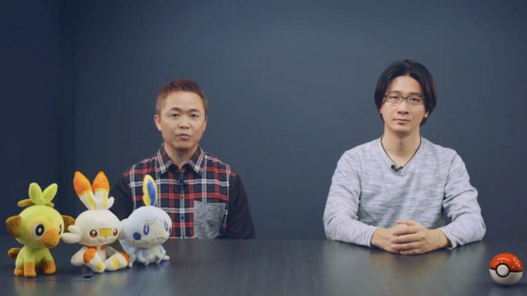 Masuda e Ohmori nella Pokémon Direct.