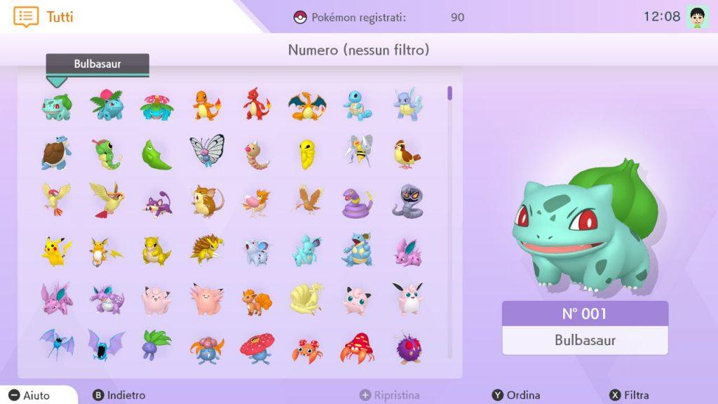 Pokédex Nazionale in Pokémon HOME