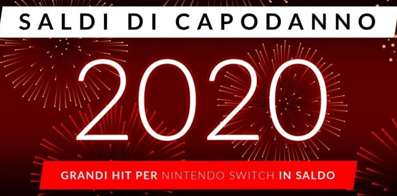 Inizia l'anno al meglio con gli sconti Nintendo