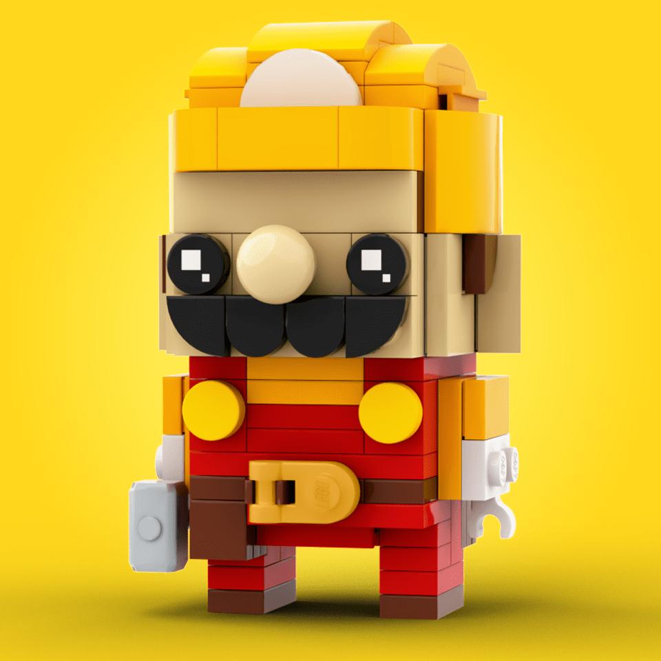 LEGO Mario costruttore