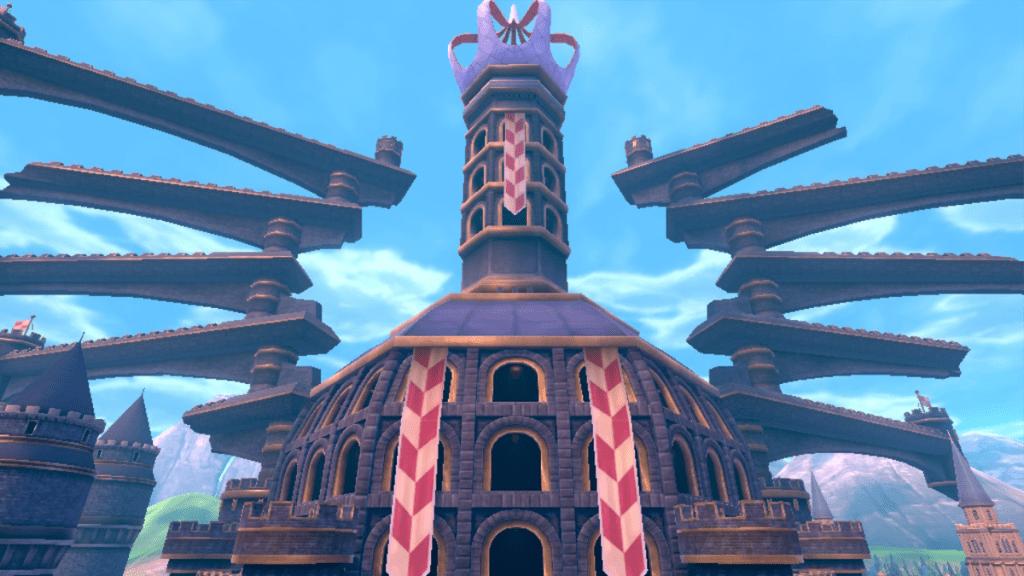 La torre di Knuckleburgh in cui affluisce l'energia delle Desiostelle di tutta la regione.
