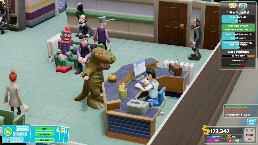 Two Point Hospital skin